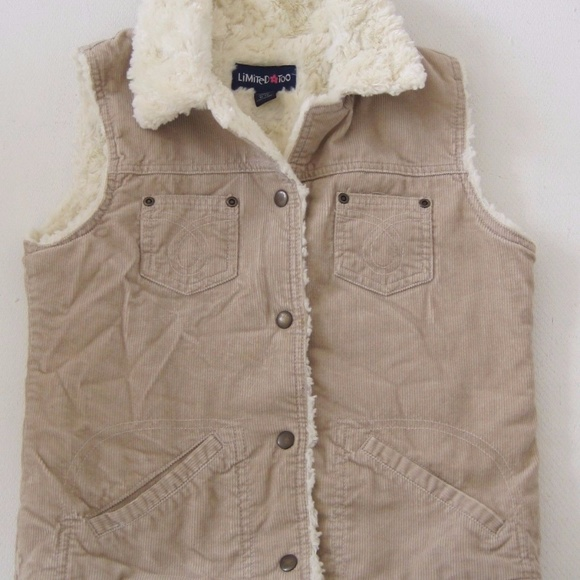 Limited Too Other - LIMITED TOO Jacket Vest Medium M 12 Girls Warm